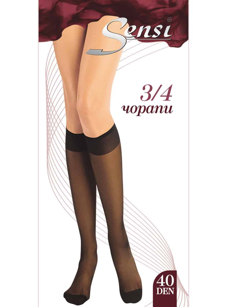 Дамски чорапи Sensi 34 40 Den